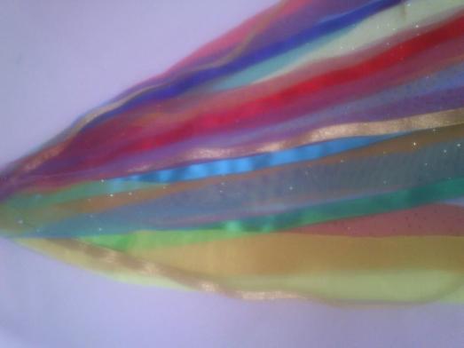Pita tambourine rainbow