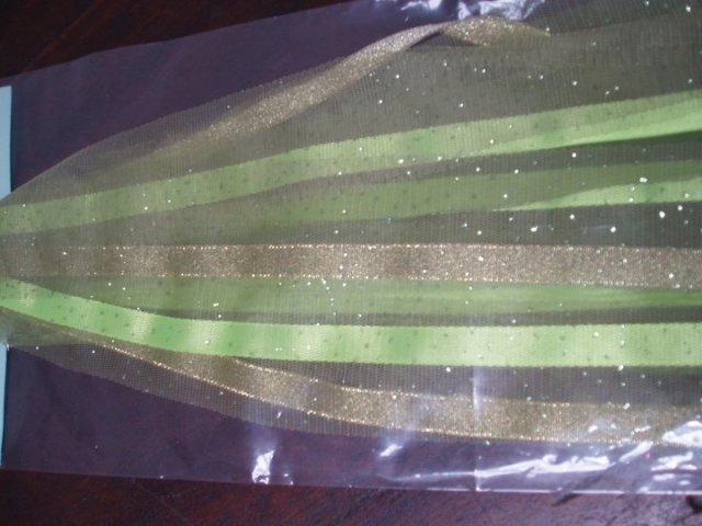 pita tambourine warna hijau